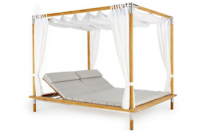 Catalina Double Day Bed from Eco Outdoor  Feel like you're on a luxury holiday everyday! This double daybed has a ...