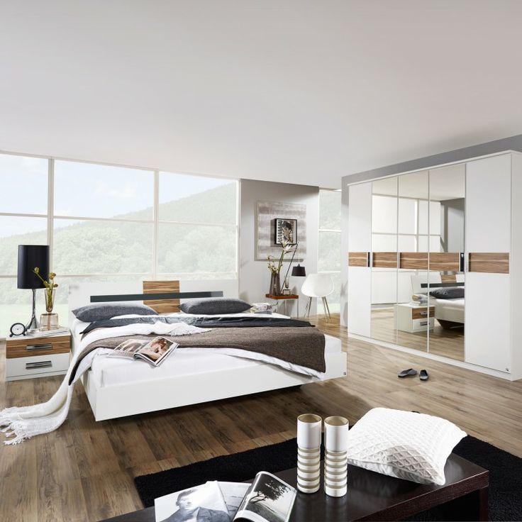 Slaapkamersets Brione - 4-delige set alpine wit