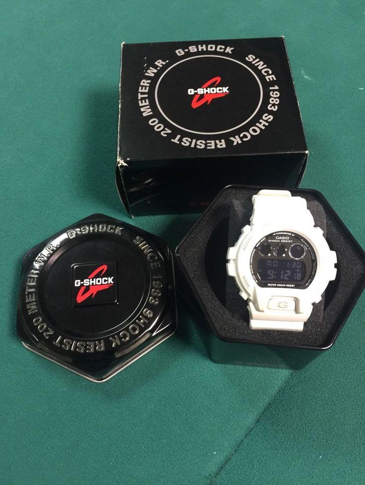 Casio G-Shock White Mens Watch DW-6900NB