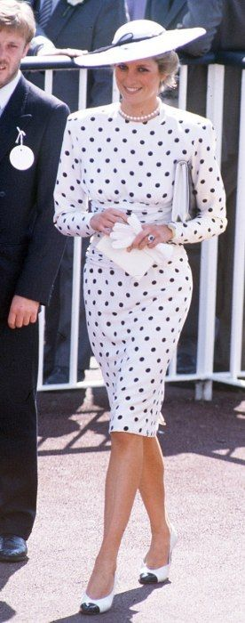 Princess Diana - Photos: Royal-Wedding-Worthy Hats | Society | Vanity Fair Princess Diana was a big icon on the 80s and she also followed the trend of power dressing. This is why this image of Diana is so important she was very influential and her wearing the big shoulder pads shows she was sending a message men did not have power over her. This will have influenced many women to do the same and feel they could. I like the way this look is still kept suitable for a member of the royal family…