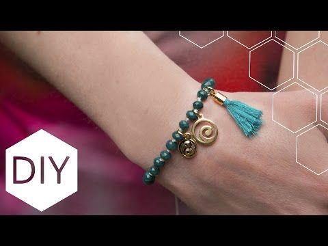 DIY sieraden maken met Kralenhoekje - Geknoopte armband - YouTube