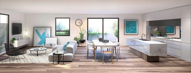 Interior 3d Render Living Room- corona render
