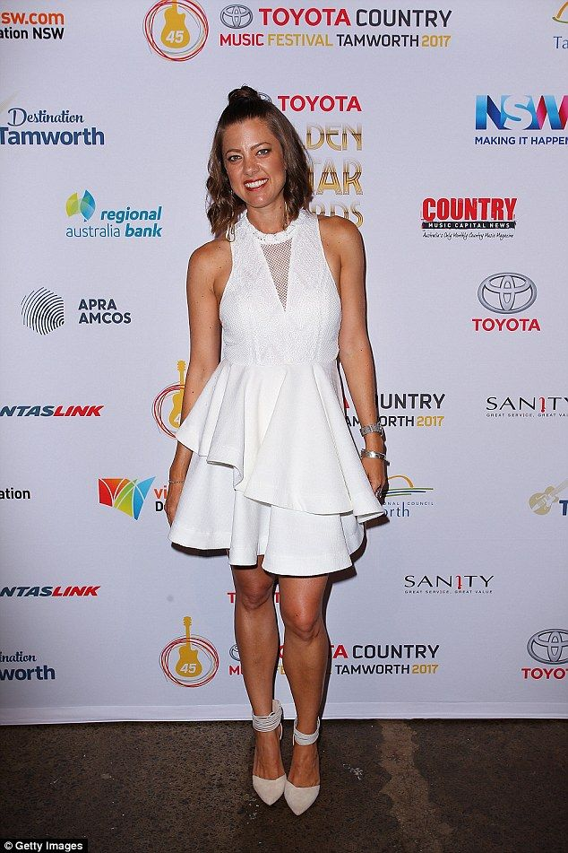 Country gal: Last year Amber, 38, released her fifth album, Happy Ever After, which reache...