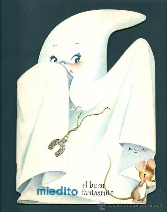 3549 -FERRANDIZ - CUENTO TROQUELADO MIEDITO EL BUEN FANTASMITO -5ª EDICIÓN 1975 ED. EDIGRAF Nº 43 (Libros de Lance - Literatura Infantil y Juvenil - Cuentos)