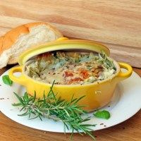 Three Cheese Spinach & Artichoke Chicken Lasagna | Little Kitchen, Big Bites | Little Kitchen, Big Bites