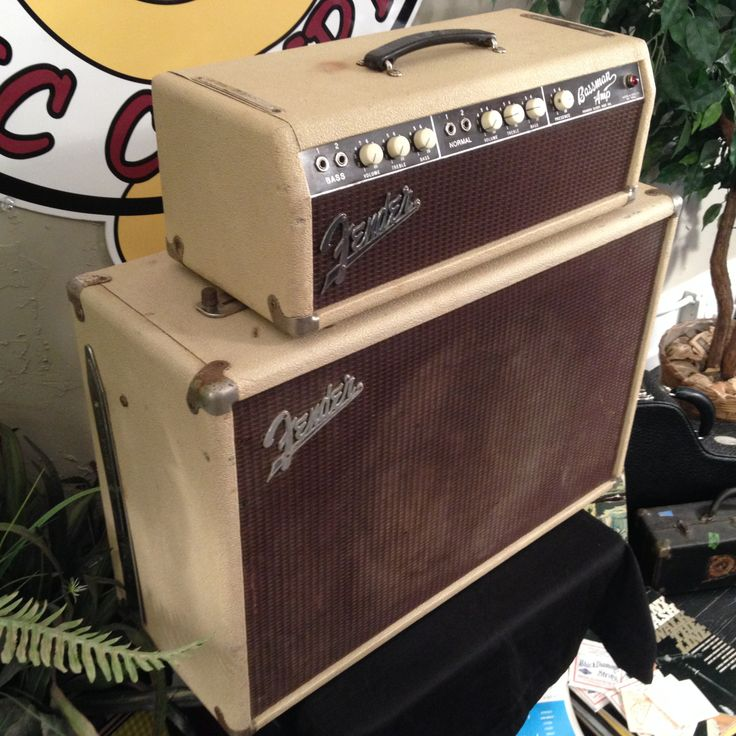 vintage 1961 fender bassman tube amplifier and cabinet the amps today cannot compare to the. Black Bedroom Furniture Sets. Home Design Ideas