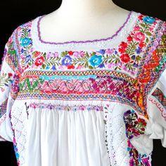 Vintage Oaxaca dress