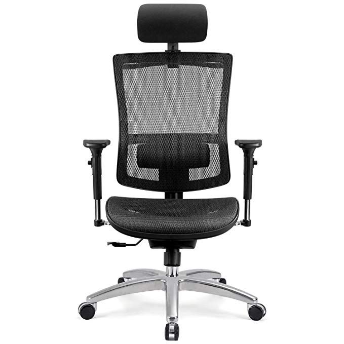 Furmax Ergonomic High Back Mesh Office Chair Executive Computer Desk Chair With 3d Flip Up Arms Swivel Task Chair With Adjusta Office Chair Mesh Office Chair