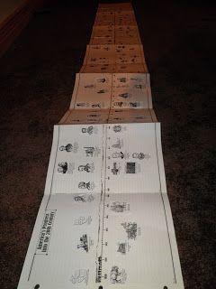 Timeline printable? Looks cool! Gettin' Skooled: {CC} Cycle 2, Week 1