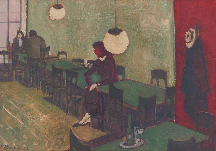 Ferdinand Hložník - V kaviarni
