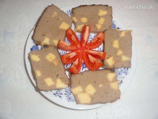 Pečeňový syr z kuracích pečienok - Recept