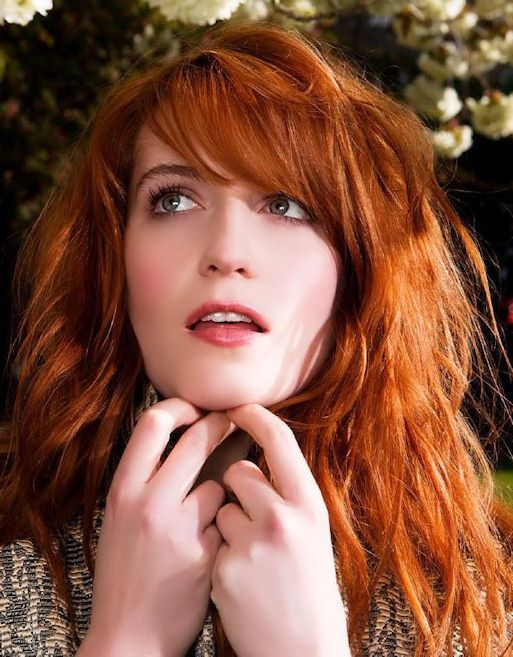 """""""I want my music to sound like throwing yourself out of a tree, or off a tall building, or as if you're being sucked down into the ocean and you can't breathe,"""" says Florence Welch."""