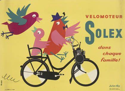 Julian Key (Julien Keymolen) : Velomoteur Solex dans chaque famille!