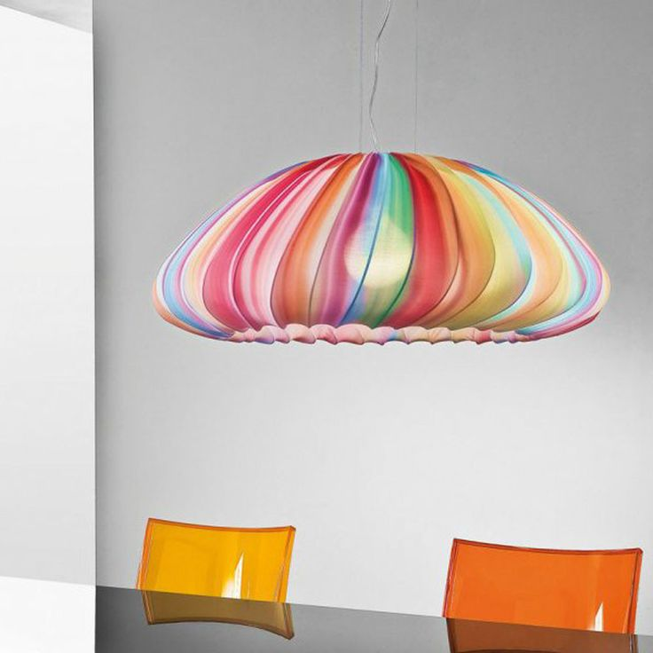 Muse SP is a flat dome shape suspension which comes in a variety of colours: #light #design