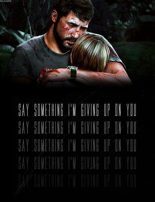 The Last of Us  No no no no no no no no no!!!!!