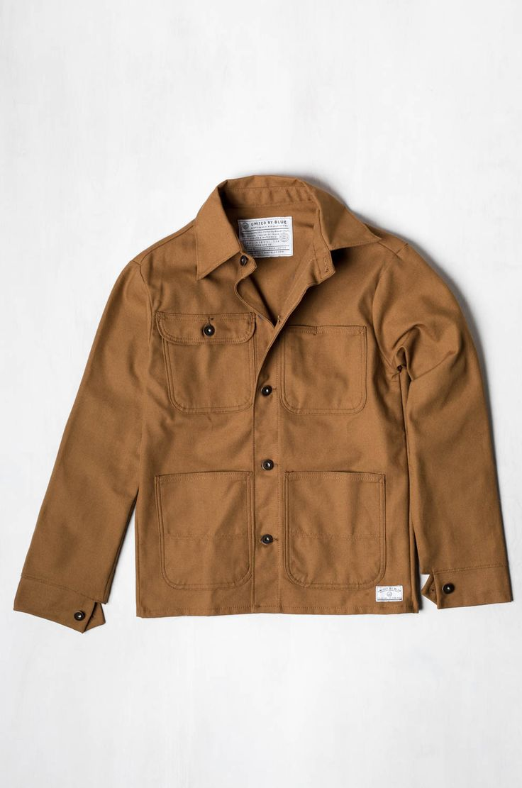 This canvas field jacket may be for men, I think it would look amazing paired with skinny jeans, a crips white button-down shirt and and slip on Moroccan slides.