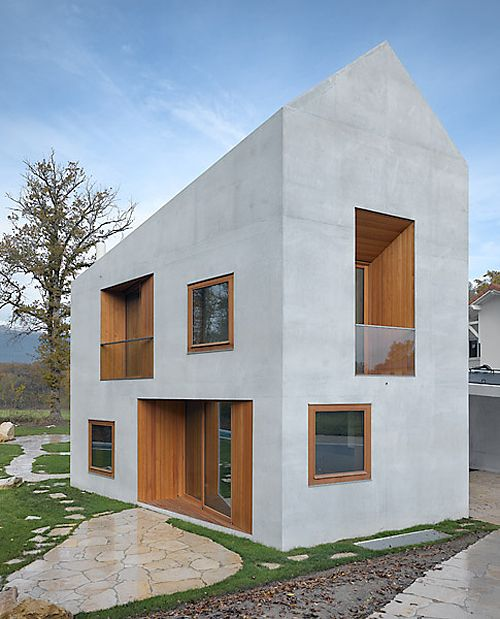 Clavienrossier Architectes - The larger-than-it-looks double house, Geneva, by Clavienrossier Architectes