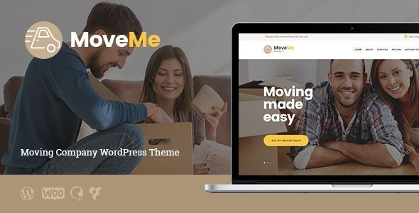 MoveMe | Moving & Storage Company (Business) - http://wpskull.com/moveme-moving-storage-company-business/wordpress-offers