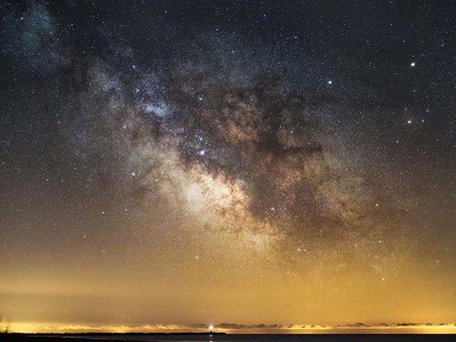 """Went Milky Way hunting this morning..."" • @matt_quinn  #DiscoverON"