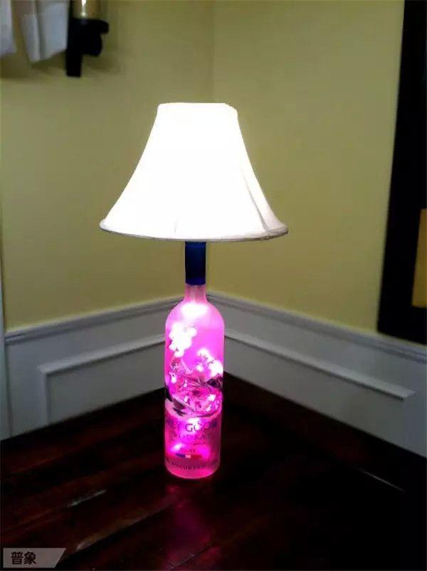 15 Ideas Inspiradoras Para Hacer Lamparas Con Botellas De Cristal