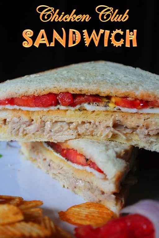 about Chicken Club Sandwiches on Pinterest | Chicken Club, Turkey Club ...