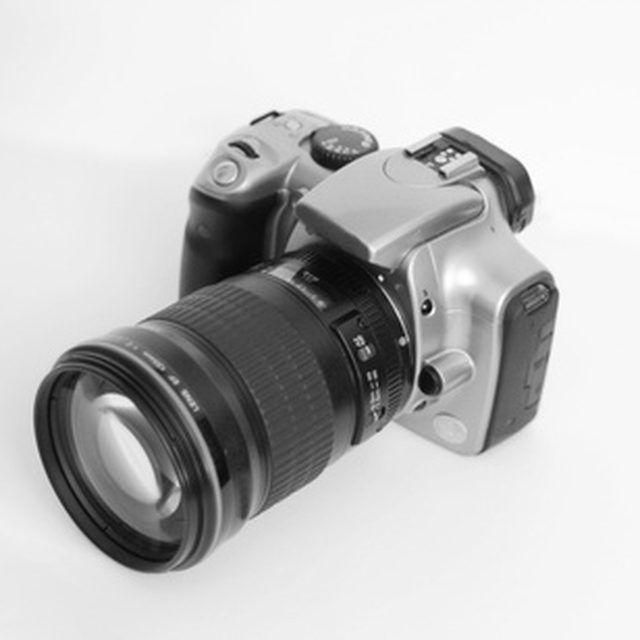 The Canon Rebel XT is a basic but versatile model.