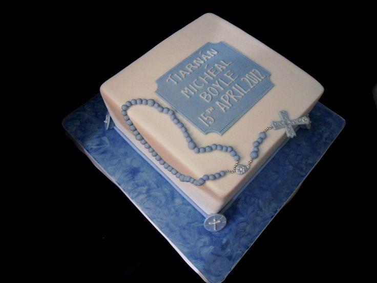 Children Baptism Cake