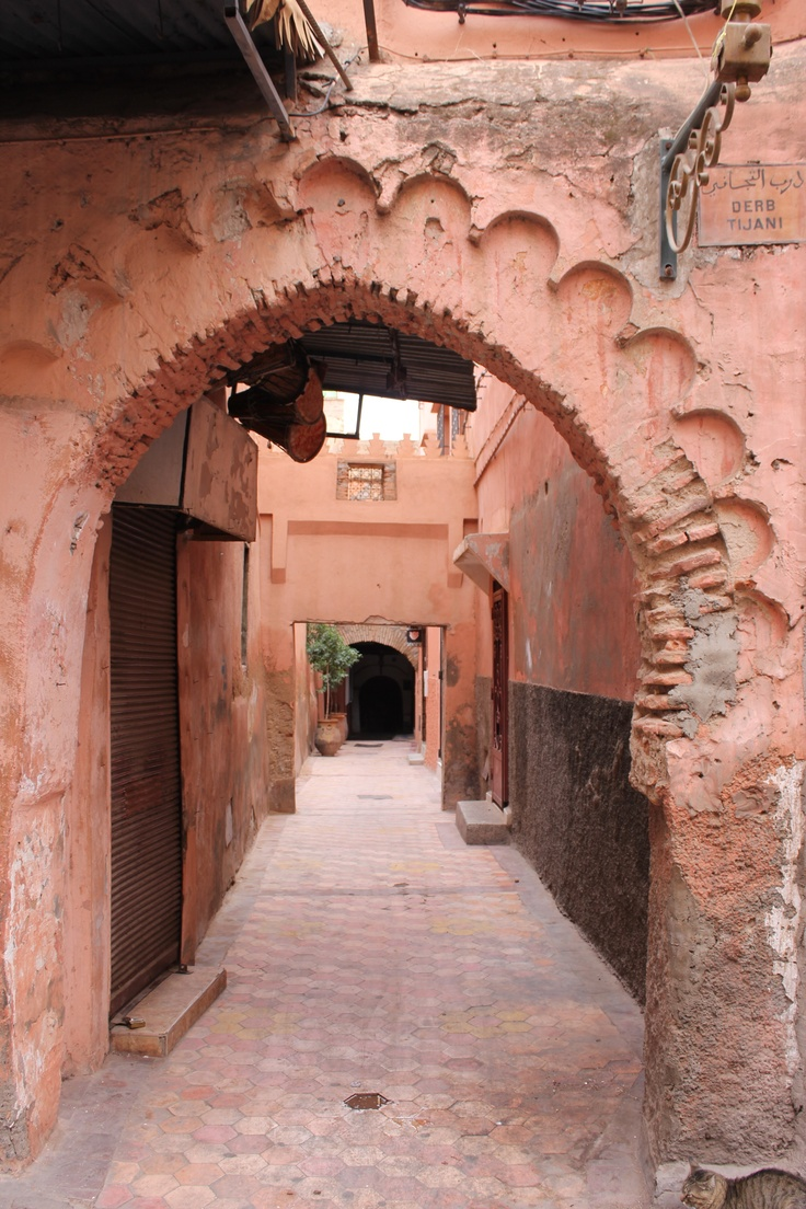 Arches in Marrakech