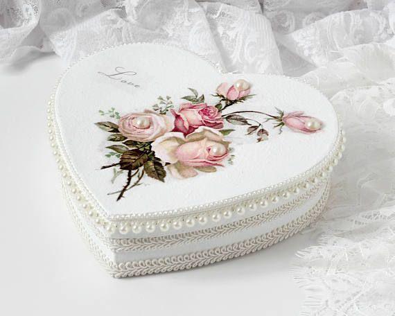 Heart Shaped Gift Box Valentine's Heart Box Romantic