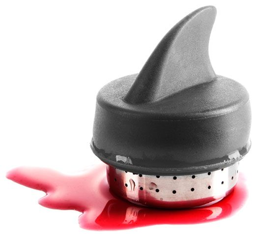 Sharky Tee-Ei Haifischflosse