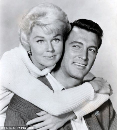 """Doris Day and Rock Hudson,one of my favourite films is Pillow Talk. """"You are my inspiration..."""" ;)"""