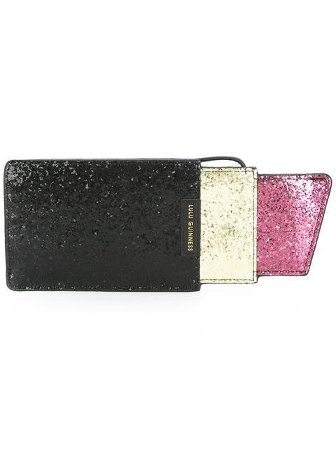 LULU GUINNESS 'Lipstick' Clutch. #luluguinness #bags #clutch #cotton #hand bags #