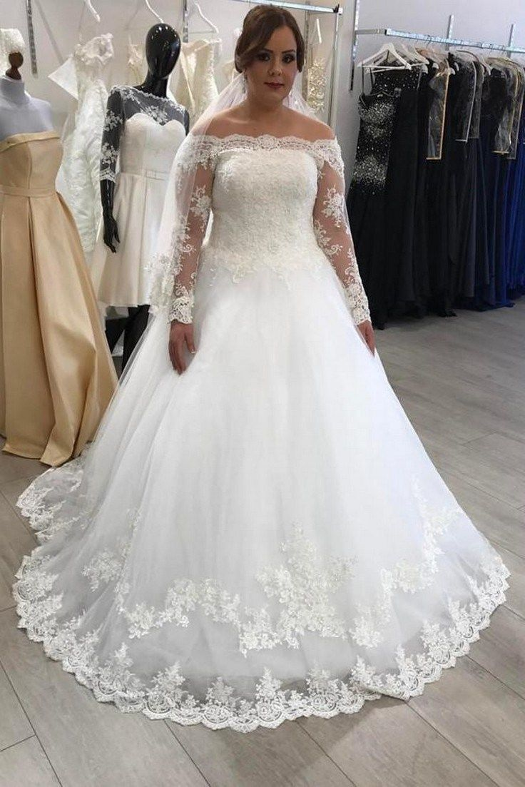 43 super gorgeous plus size wedding dresses to flatter you best on ...