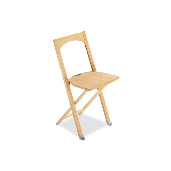 Sedia pieghevole in legno da cucina Calligaris Olivia - Questa sedia è realizzata interamente in legno verniciato, disponibile nei colori: faggio sbiancato, ciliegio e wengè. Questa sedia consente di ottimizzare  gli spazi, occupa infatti solo 4cm di profondità.
