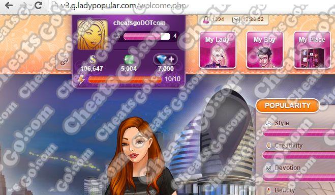 Lady Popular Fashion Arena Cheats Hack V 2 0 Lady Popular Fashion