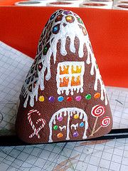 painted rock houses - Google Search
