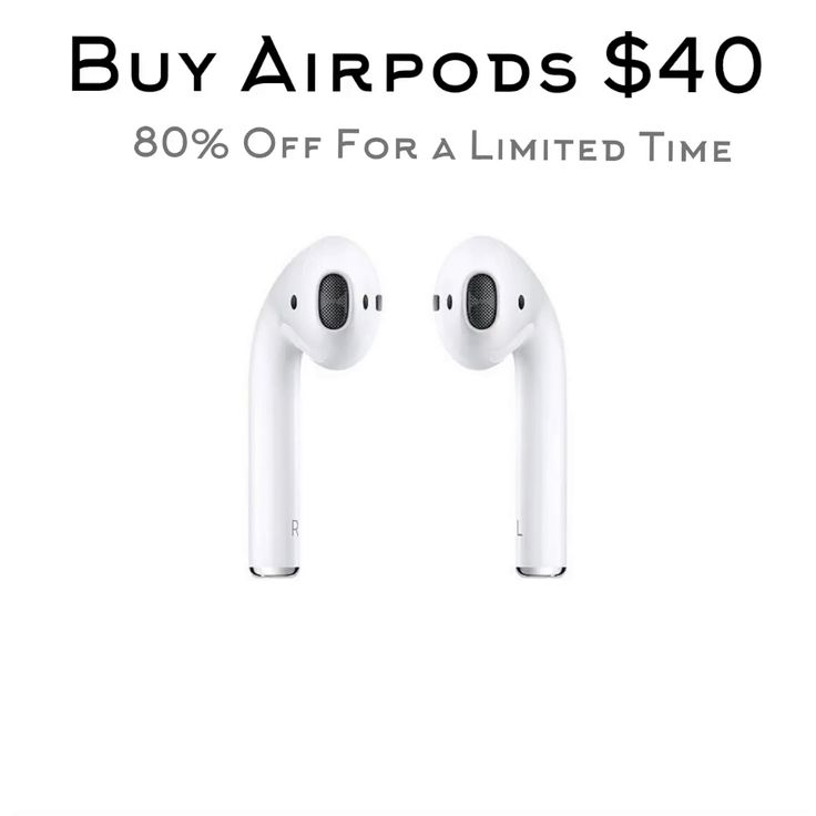 Apple airpods 40 verified by apple go to link below
