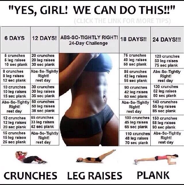 24 Days Challenge For A Flatter Stomach! GET THE PERFECT BODY BEFORE SUMMER!!