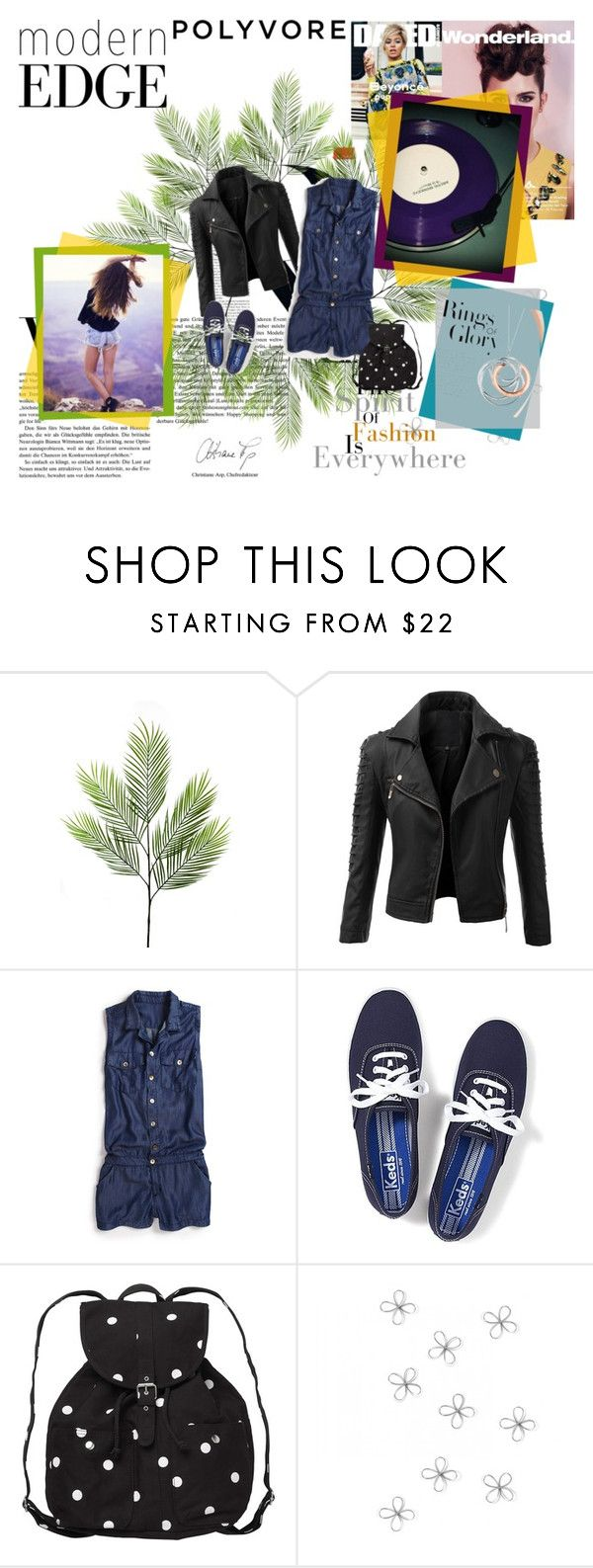 """""""My template"""" by justygirl ❤ liked on Polyvore featuring Doublju, True Religion, Keds, Monki, Emma Watson and Tiffany & Co."""