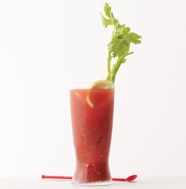 New-Look Bloody Mary - Bon Appétit.  Curry in the recipe.
