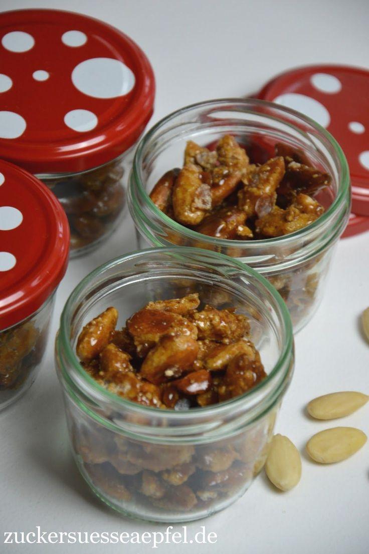 Ein Rezept für gebrannte Mandeln wie auf dem Weihnachtsmarkt
