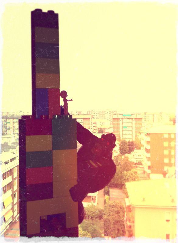 Toys, King Kong Lego.