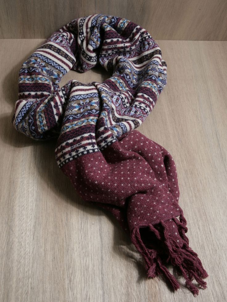 71 best Scarf Ideas images on Pinterest | Fair isles, Cosy and Gloves