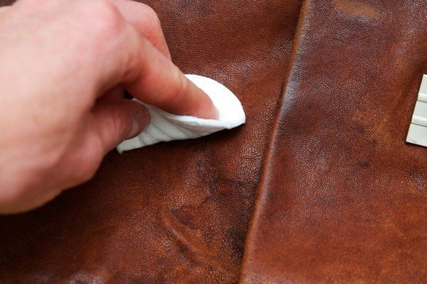 How To Clean Water Spots Off Leather