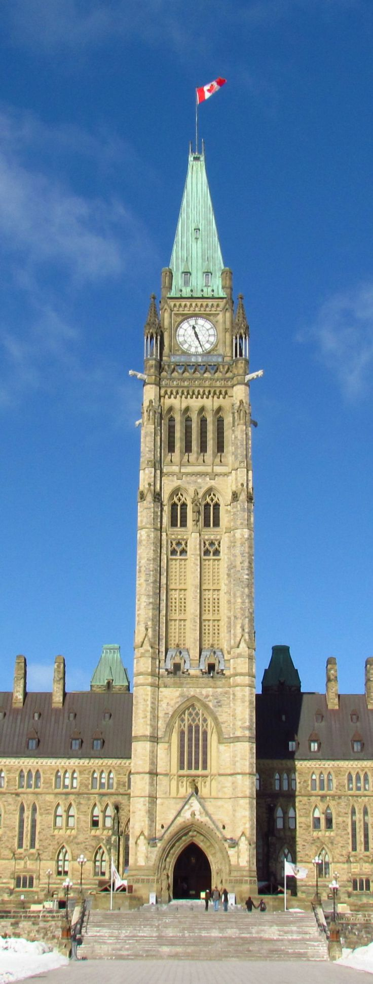 Peace Tower - (officially the Tower of Victory and Peace)  Ottawa Canada
