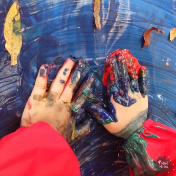 Blog: Midwinter Messy Madness - simple steps to contain the chaos while maintaining the fun during indoors messy play activities.