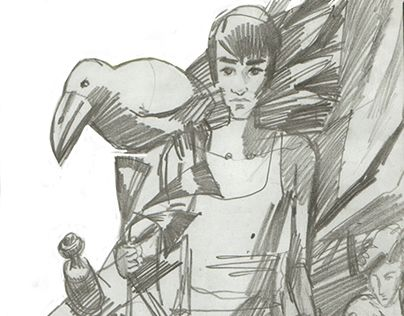 """Check out new work on my @Behance portfolio: """"Sketches""""…"""