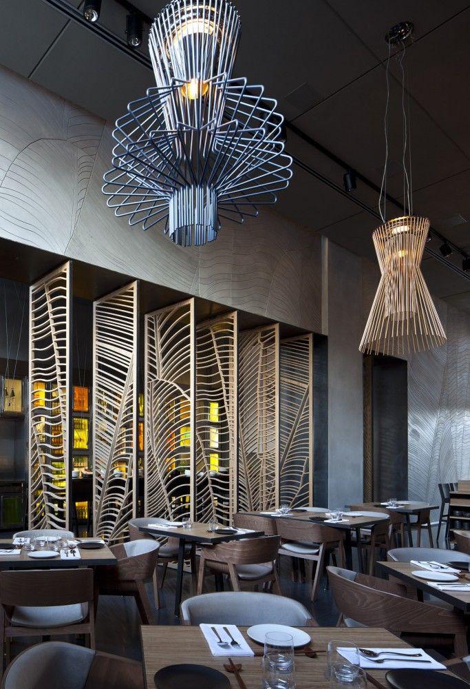 Taizu Restaurant in Tel Aviv by Pitsou Kedem Architects + Baranowitz-Amit Design Studio