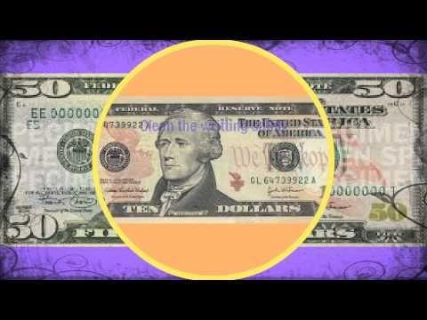 50 $ Bill is actually a 10 Dollar Bill Fake Dollar Bill