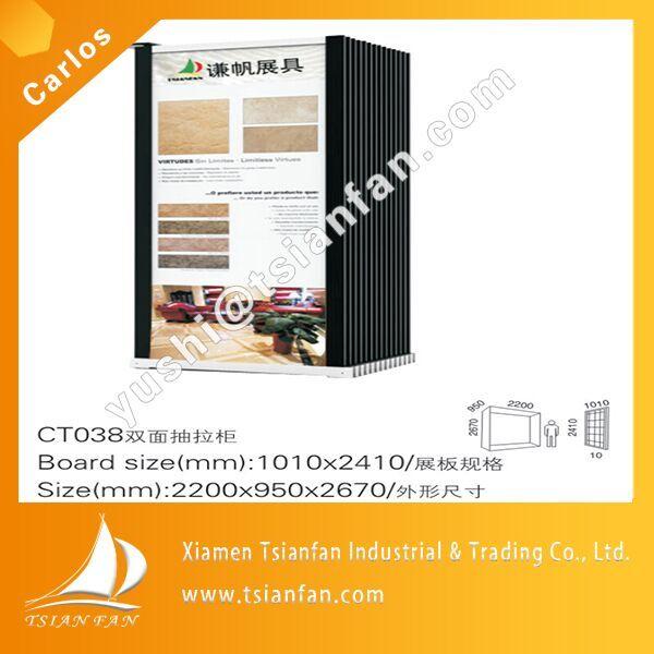 Customized Ceramic Tie Display Stand Rack